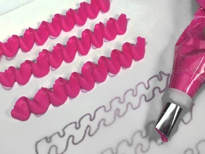 How To Pipe Ruffles With Buttercream
