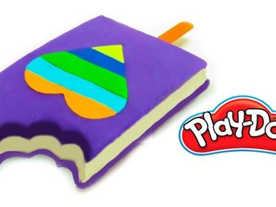 Ice Cream Play Doh How To Make a Giant Ice Cream Popsicle | Helados Play Doh en español