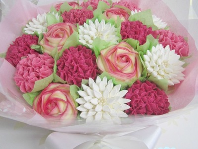 Learn How To Make Cupcake Bouquets