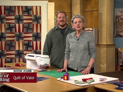 Love of Quilting: How to Make the Non Sibi Sed Patriae Quilt of Valor (2208)