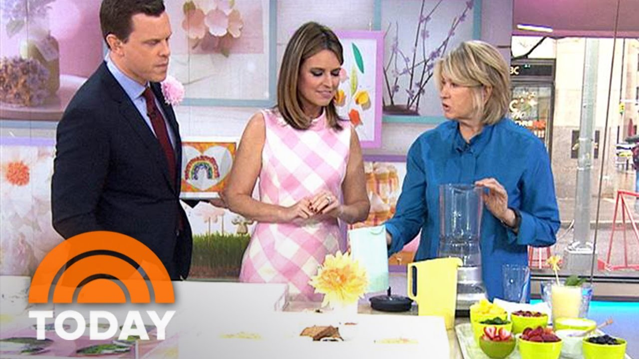 Martha Stewart Shows How To Make DIY Gifts For Mother's Day   TODAY