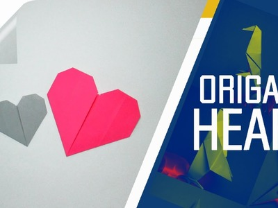 Origami - How To Make An Origami  Heart