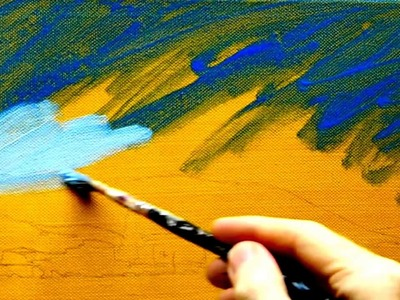Paint Tutorial || How to paint like Monet: Lessons on Impressionist landscape painting techniques ||