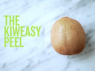 PureWow Presents: How to Peel a Kiwi