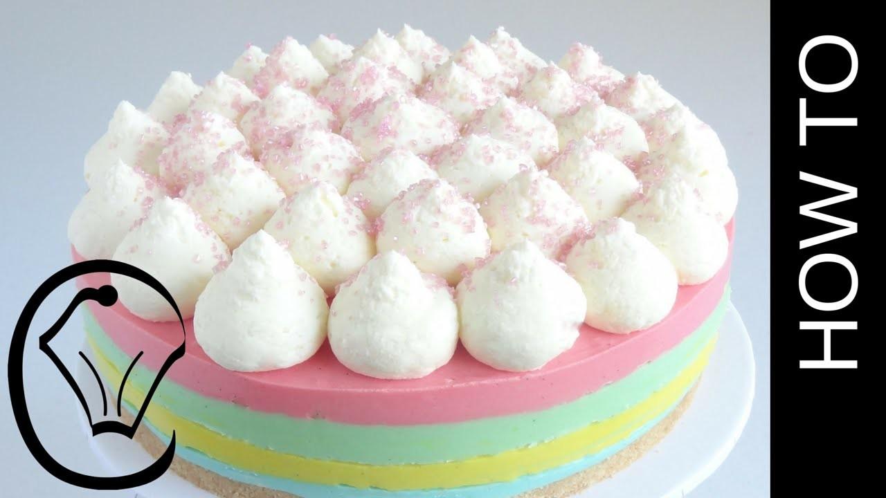 Rainbow Cheesecake How To by Cupcake Savvy's Kitchen