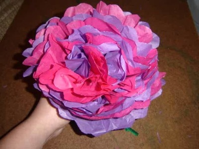 Collection Of Tissue Paper Flowers