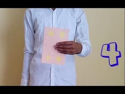 DIY Paper card Magic tutorial very easy