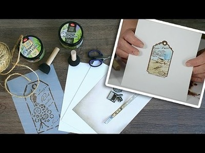 How to: 3D-Stamp Paint Background and Stamping