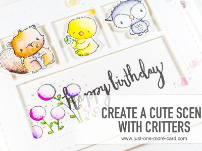 How to Create a Cute Critter Scene
