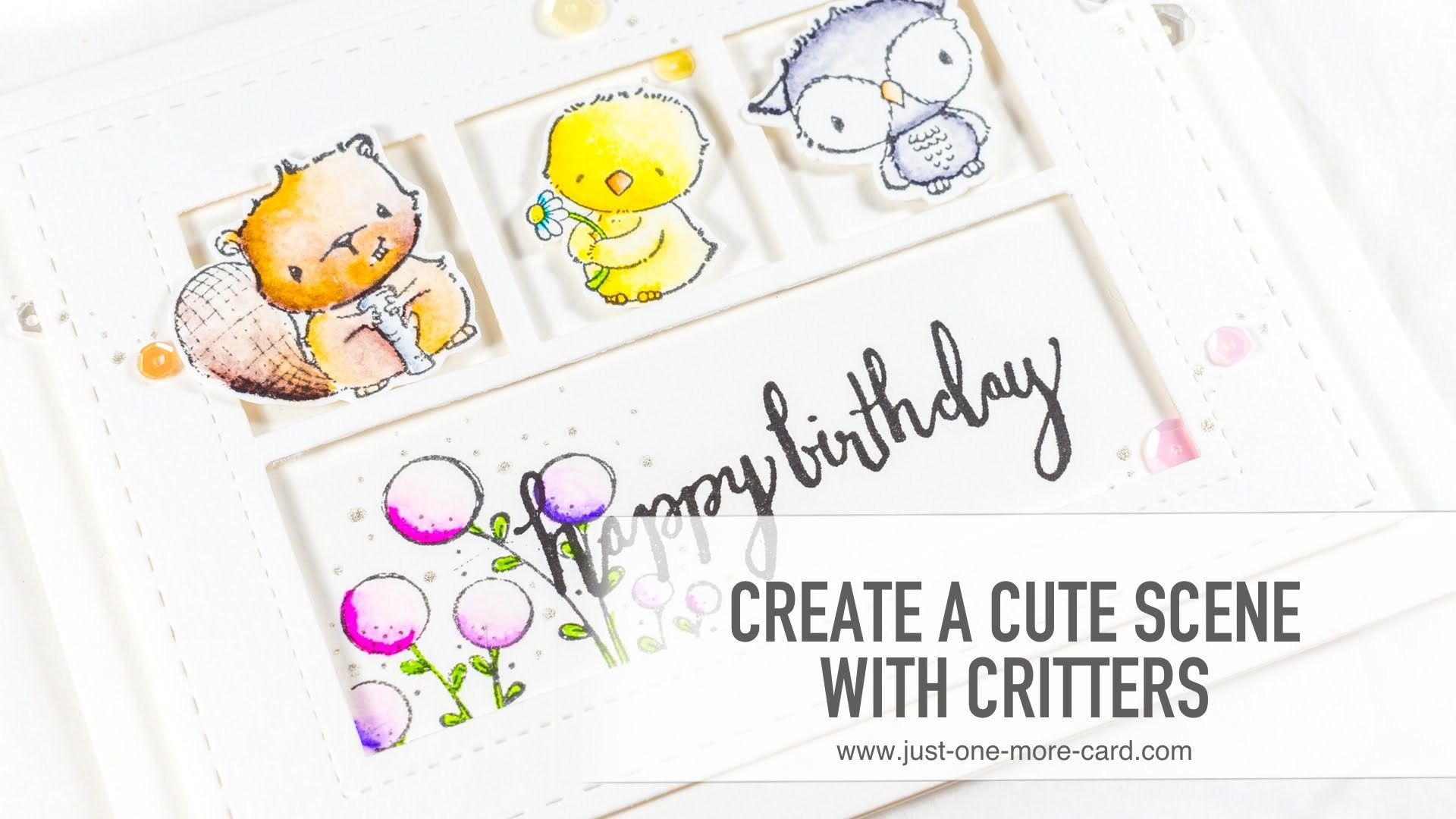 How to Create a Cute Critter Scene