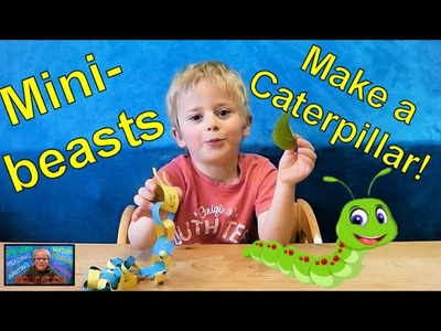 How to Make a Caterpillar - Learn Minibeasts | Kids Educational Videos