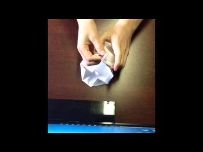How to make a paper flying saucer