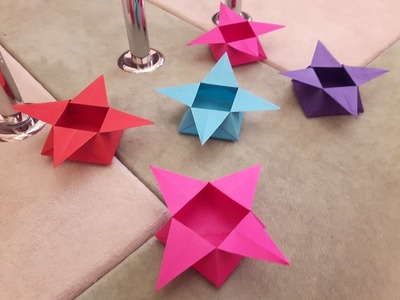 How to make a Paper Star Box?