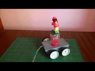 How to make a RC Car ( wired remote controlled robot car)