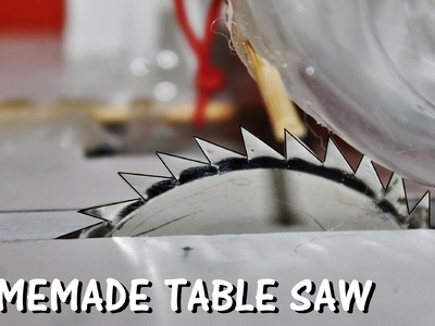 How to make a Table Saw at Home  - Easy