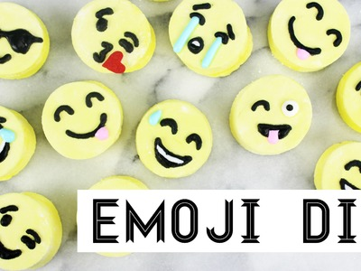 How to Make Emoji Marshmallows!