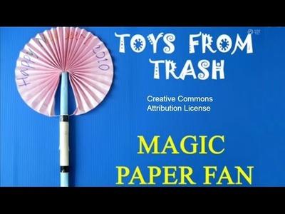 Magical Paper fan   Punjabi