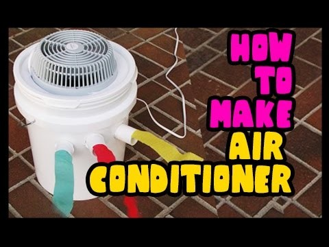 Make Air Conditioner at Home