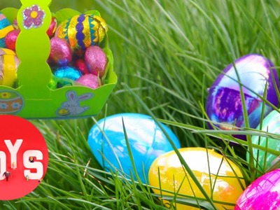 Make Your Own Paper Easter Egg Basket for this Easter's Egg Hunt | Toyshop Easter Series