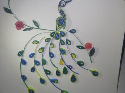 Peacock - Paper Quilling  Design Tutorial