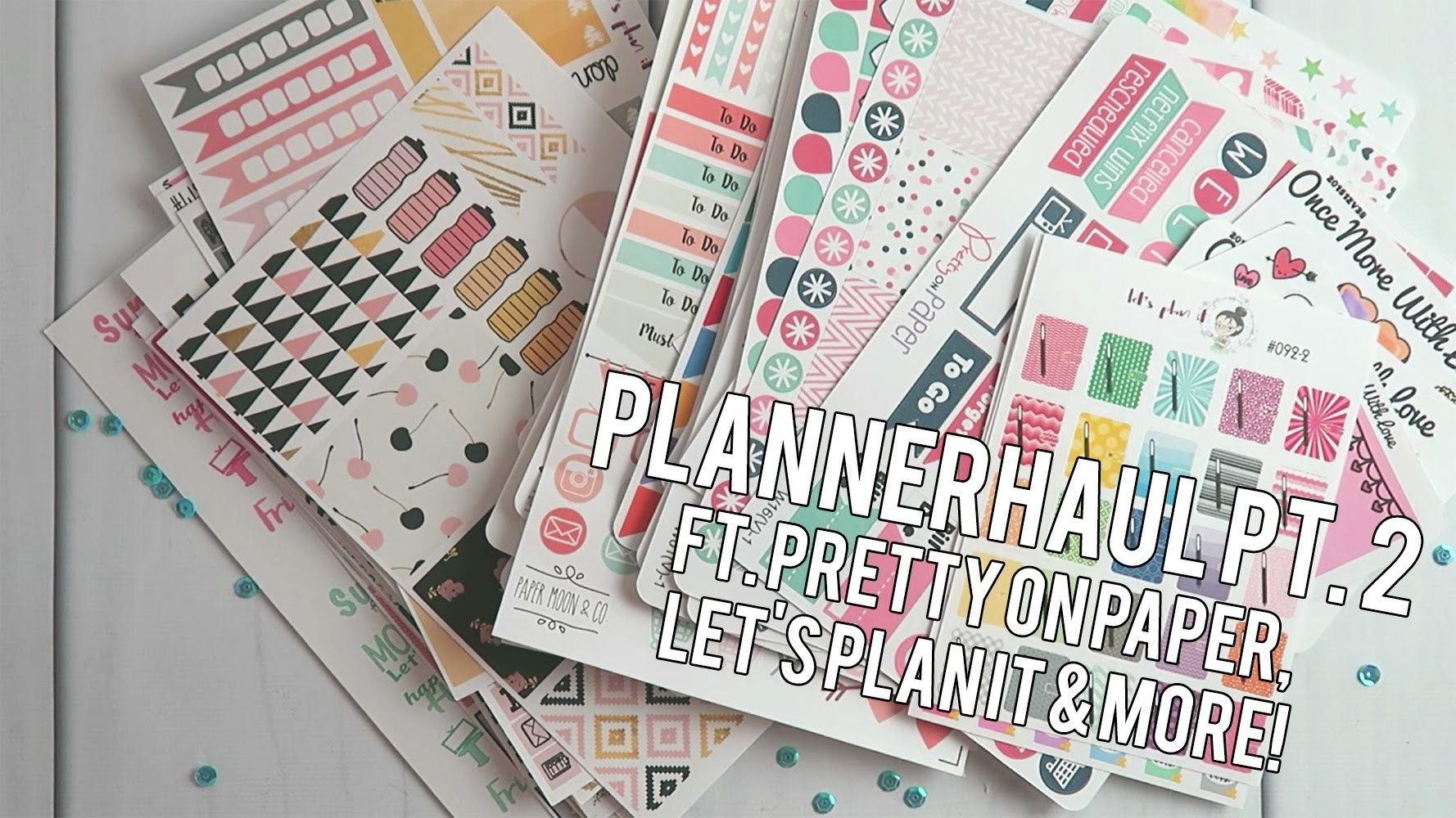 Planner Haul Pt. 2 ft. Pretty on Paper, Let's Plan It & More. Creating&Co