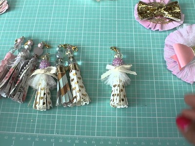 Project Share : Paper Tassel and Crepe Paper Flowers