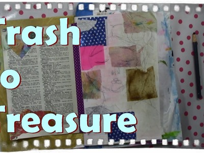 Recycle paper to collage Paper arts, Art journaling ideas, CAC #TrashToTreasure . Ayala Art
