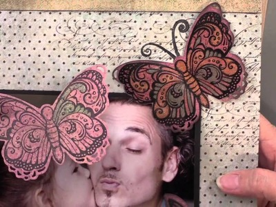 Summer Look: Butterfly Stamp & Cutting Die - Paper Wishes Weekly Webisodes