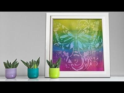 Viva Decor, 3D Stamp Paint Background, Metal Color for Paper