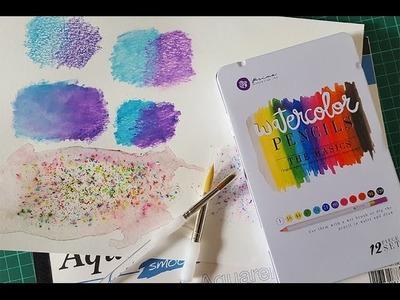 Watercolour pencil techniques how to use watercolour pencils