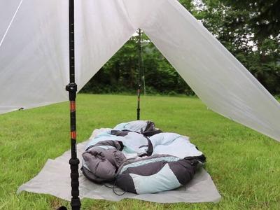 13oz Ultralight backpacking shelter (Easy DIY Guide!)