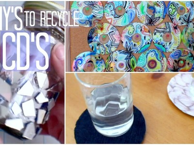 3 DIY's to Recycle CD's