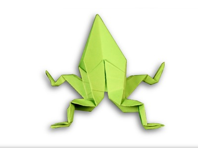 3D Origami Frog    DIY   Learn Origami   How To Make Easy Origami Frog