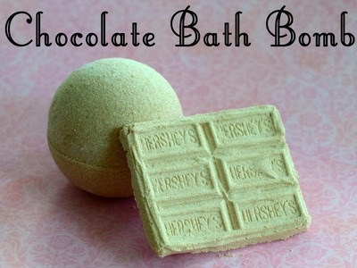 Bathe in Chocolate!. DIY Chocolate Bath Bombs!. How to make chocolate bath fizzies