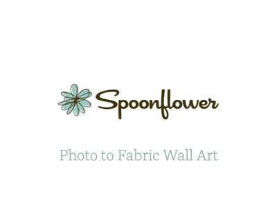 Custom DIY Canvas Wall Art Tutorial | Spoonflower