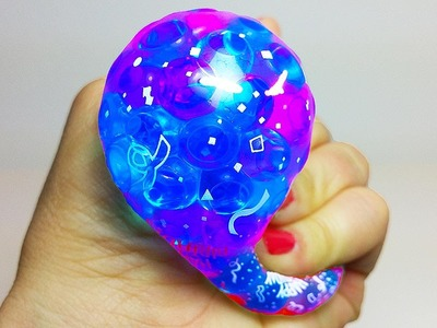 DIY: 3 AWESOME types of HOMEMADE Stress Balls: Orbeez, Slime & Sand Slime! Super Squishy and Fun!