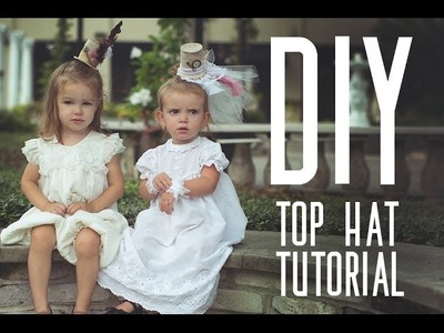 DIY Alice in Wonderland Mini Top Hat Tutorial