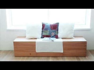 DIY Blanket Box