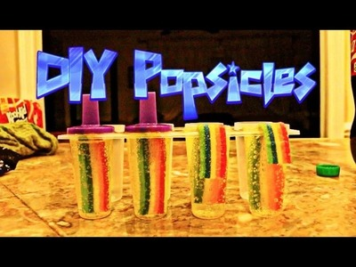 DIY CANDY POPSICLES  | NICK BEAN