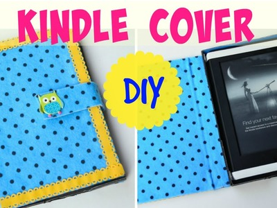 DIY Crafts: Kindle Paperwhite Cover tutorial!! Very easy and durable.