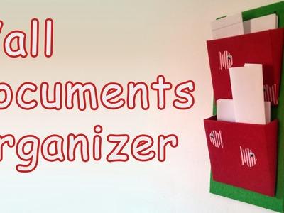 DIY crafts - Wall Documents Organizer -  Ana | DIY Crafts