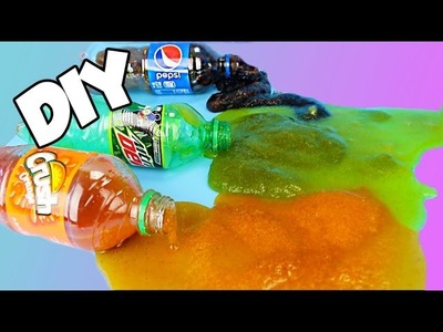 DIY EDIBLE SODA SLIME! SO EASY!