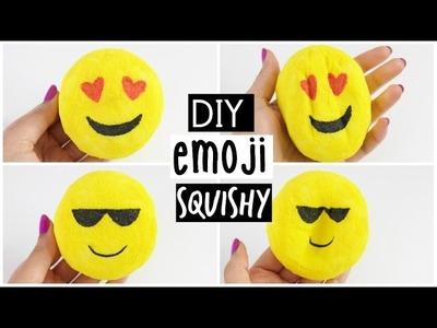 DIY Emoji Squishy - Make your own Squishy from Scratch!