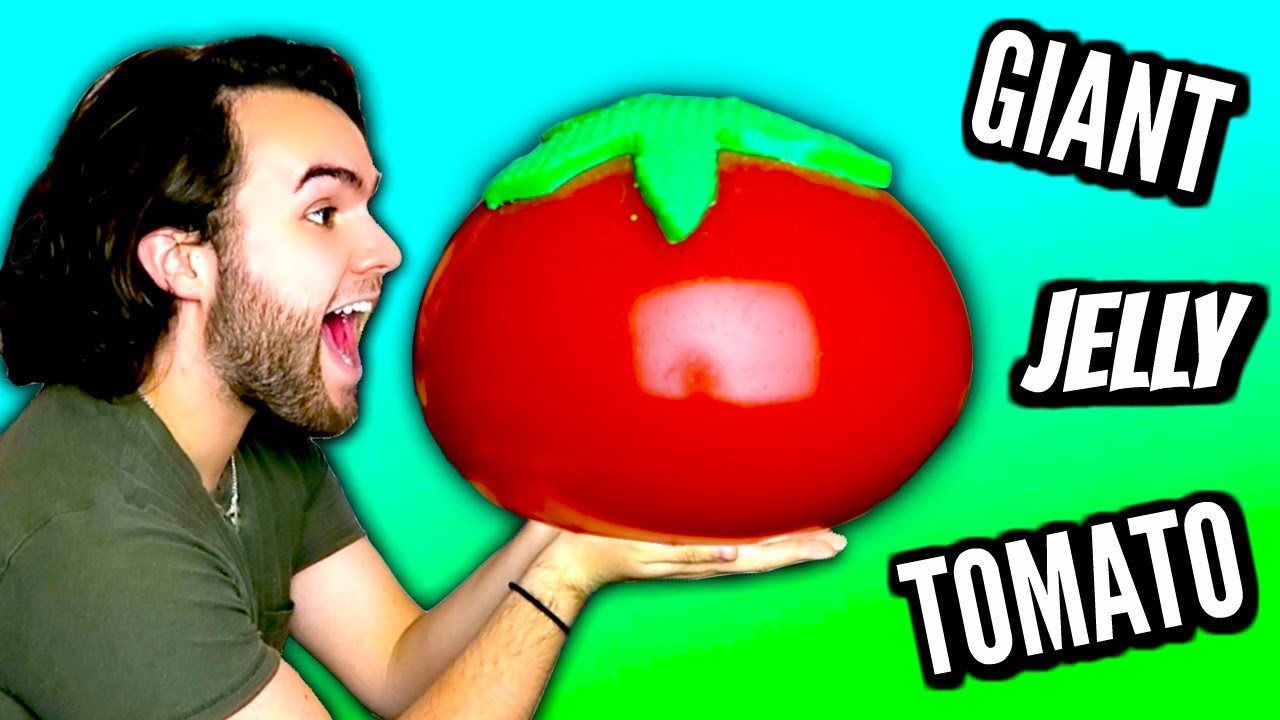 DIY GIANT JELLY TOMATO! | How To Make HUGE Gummy Jello Timato Tutorial | 1,000,000 SUBSCRIBERS!