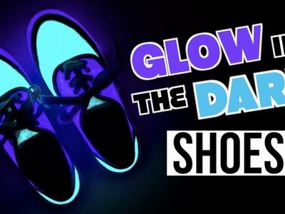 DIY Glow In The Dark SHOES! 2016