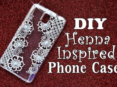 DIY Henna Inspired Phone Cover (Aroosa Shahid Inspired)  || Samia Hasanat