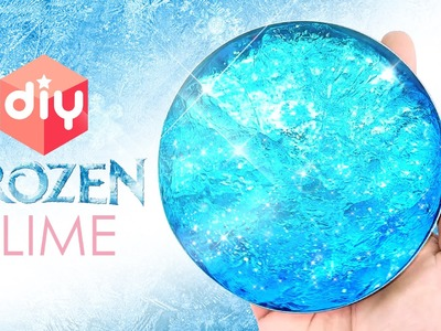 DIY How To Make Frozen Slime ! Clear Ice Putty