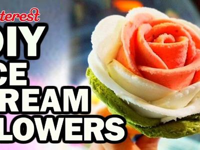 DIY Ice Cream Flowers - Man Vs Pin #91