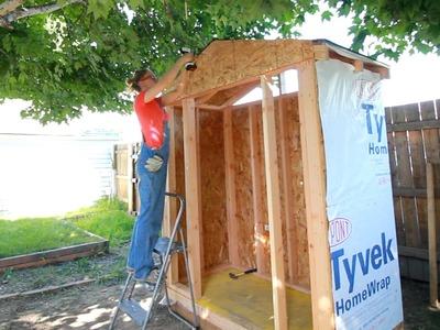DIY Lawn & Garden Storage Shed: Part 1
