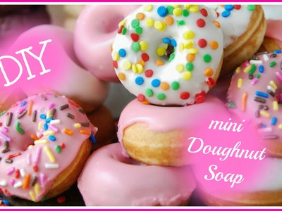 DIY mini Doughnut Soap | 2016